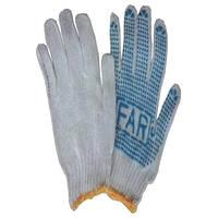 Перчатки ПВХ - 7 класс 3 нитки (12)