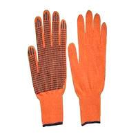 Перчатки ПВХ - 10 класс 2 нитки (261)