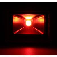 LED прожектор 30Вт красный, фото 1