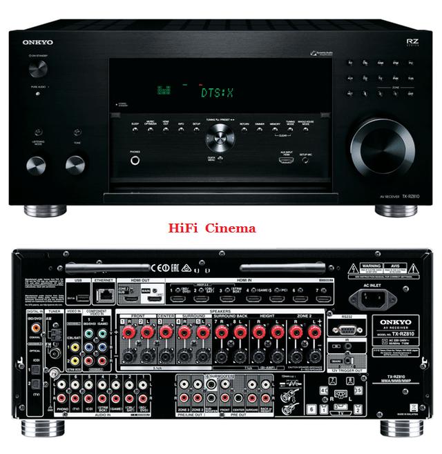 Onkyo TX-RZ810 7.2-канальный сетевой AV-ресивер THX