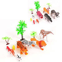 Детский набор минифигурок животных