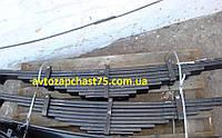 Рессора Камаз 55111 задняя 9-ти листовая (облегчённая из стали) Чуссовский метталургический завод, Россия