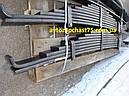 Рессора Камаз 55111 задняя 9-ти листовая (облегчённая из стали) Чуссовский метталургический завод, Россия, фото 5