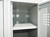 Одежный шкаф НО 22-01-06х18х05-Ц-7035