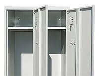 Одежный шкаф ШС 22-01-08х18х05-Ц-7035