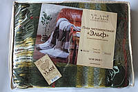 Жаккардовый шерстяной плед Vladi Эльф 03 (140х200)