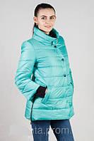 Демисезонная женская куртка с укороченными рукавами (42-52)