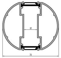 KMD.70.PV06 Профиль соединителя