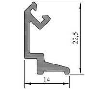 KMD.70.PV07 Профиль клипсы поворотной