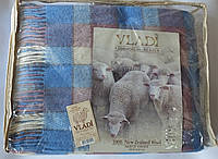 Жаккардовый шерстяной плед Vladi Эльф 017 (170х210)
