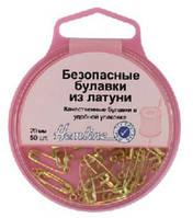 419.000 Безопасные булавки из латуни в пластиковом контейнере