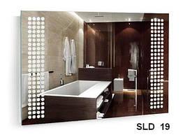 Дзеркало з вбудованим підсвічуванням SLD-19 (700х1000)