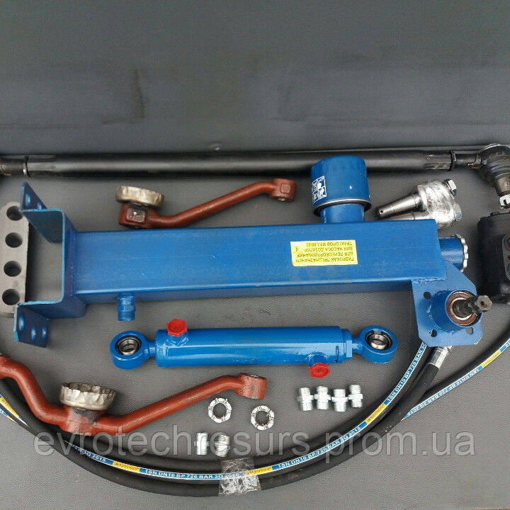 Комплект переоборудования рулевого управления МТЗ-80 с ГУРа на Насос дозатор с гидробаком