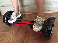 Гироборд Hover Bot Черный с красным - 10 дюймов