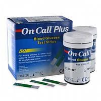 Тест-полоски On-Call Plus, 50 шт.