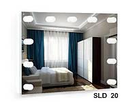 Зеркало со встроенной подсветкой SLD-20 (800х600)