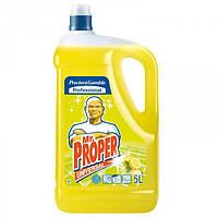 Моющее средство для полов Mr. Proper 5л лимон