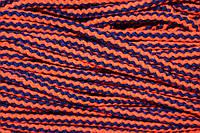 Шнур акрил 10мм (100м) т.синий+оранжевый , фото 1