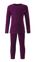 Комплект термобелья шерсть Reima (фут-ка с длинным рукавом, штани) детский. 526241