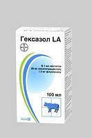 Гексазол LA 100 мл Bayer, ветеринарный антибиотик широкого спектра действия
