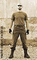 """Брюки """"Тренд Urban Tactical """" Olive 100%х/б (палаточная ткань)"""