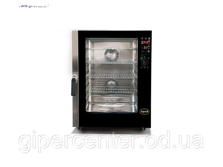 Электрический пароконвектомат Apach A 4/10 HD на 10 уровней под пекарские противни 600х400 мм