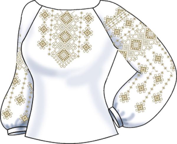 СВЖП-37. Заготовка Жіноча сорочка домоткана біла