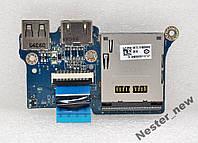 Плата USB,HDMI,SD для TOSHIBA SATELLITE T110-107