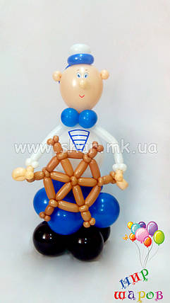 Моряк из воздушных шаров, фото 2