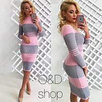Приталенное женское платье 42-44р., фото 1