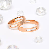 Золотые Обручальные кольца Европейка
