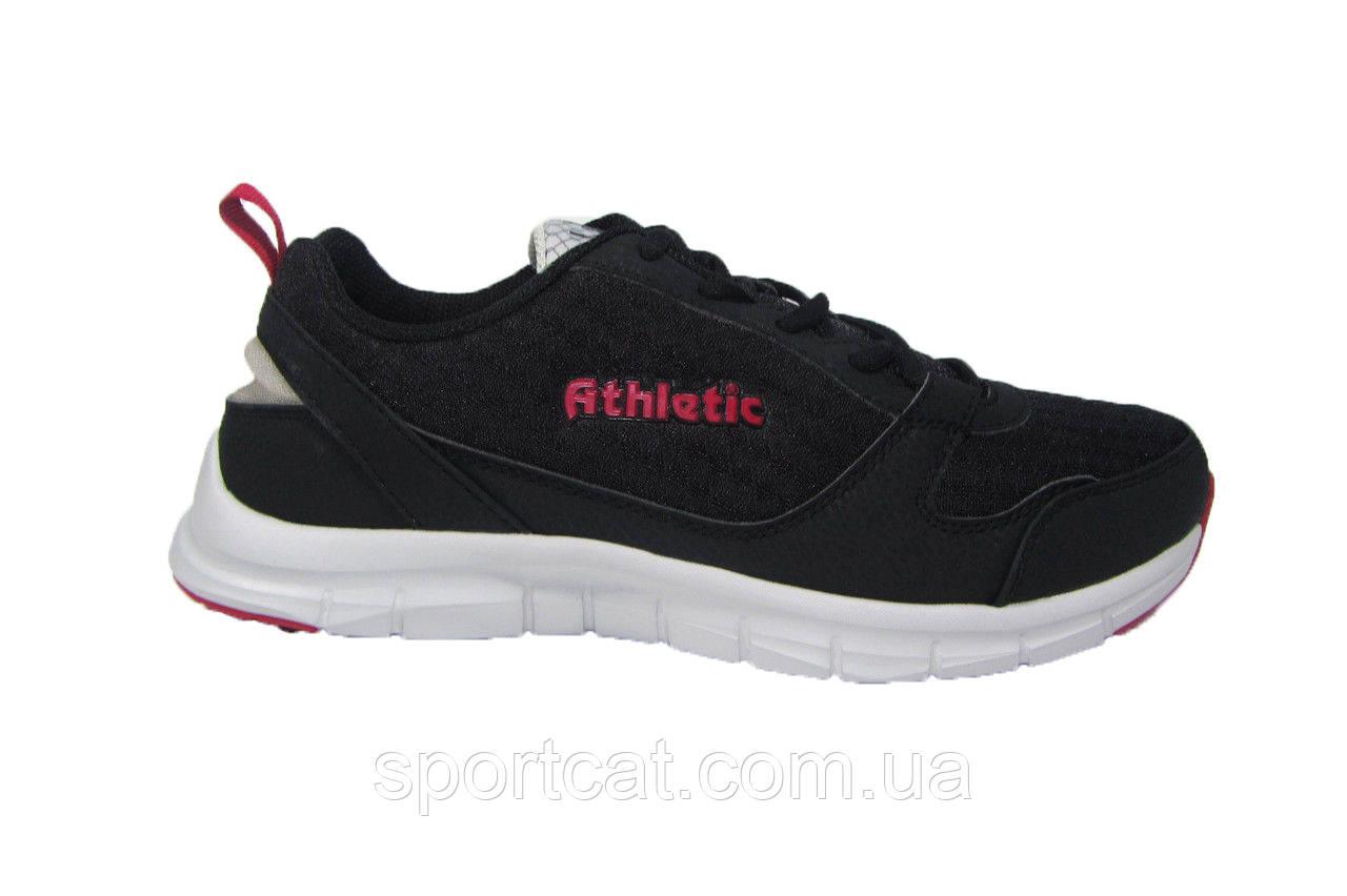 Мужские повседневные кроссовки Athletic, сетка, черные
