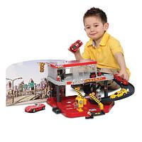 Игровой набор Гараж Ferrari Bburago (1:43) 2 уровня, 1 машинка 18-31231