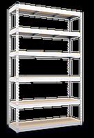Стеллаж полочный МКП МКП409 на зацепах (3600х1600х600)