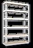 Стеллаж полочный МКП МКП410 на зацепах (3600х1600х700)