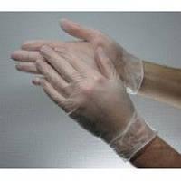 Перчатки виниловые неопудренные 50 пар, фото 1