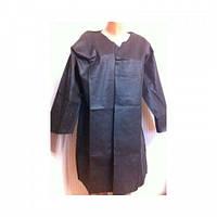 Халат одноразовый черный, халат кимоно,  1 шт
