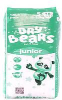 Dry Bears Fun&care Подгузники 5 junior (15-25кг),38 шт