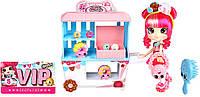 Игровой набор Shopkins Shoppies Пончиковая лавка Донатины с куклой и аксессуарами 56186