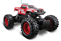 Автомодель на р/у Rock Crawler (аккум. 6v + 1х9v) красный (81152 red)