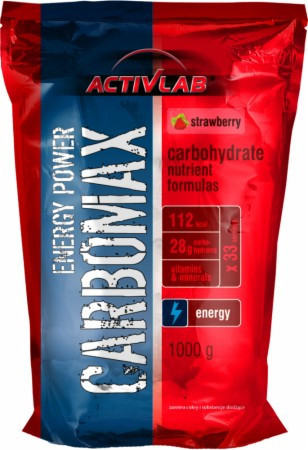 Carbomax energy power (1 kg cherry)