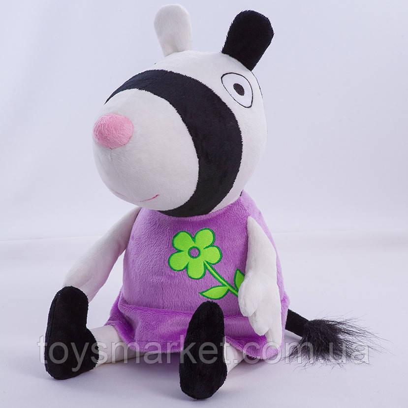 Мягкая игрушка зебра Зои, Свинка Пеппа