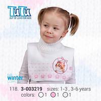 """Манишка для девочки из новой коллекции """"TuTu"""" арт. 3-003219"""