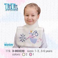 """Манишка для девочки из новой коллекции """"TuTu"""" арт. 3-003220"""