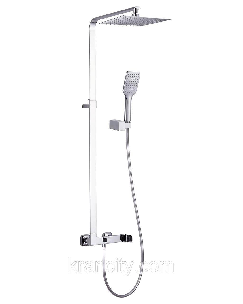 Душевая система двойная  со смесителем, IMPRESE ODLOVE T-15300