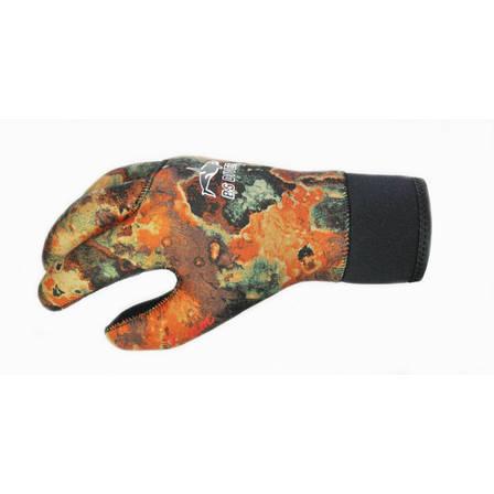 "Перчатки пятипалые BS Diver ""CAMOLEX"" 7mm L, фото 2"