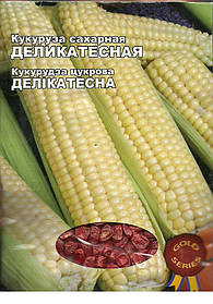 Семена Кукуруза Деликатесная Gold 20г Желтая (Малахiт Подiлля)