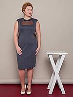 Женское Платье больших размеров  Риччи   52-58