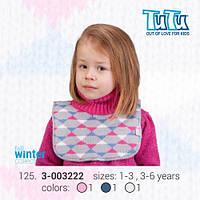 """Манишка для девочки из новой коллекции """"TuTu"""" арт. 3-003222"""