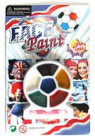 "Краски для лица, аквагрим со спонжем ""Face Paint"" 6 цв. 818989"